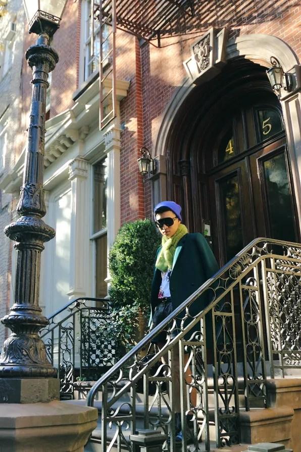 Bryanboy in the West Village