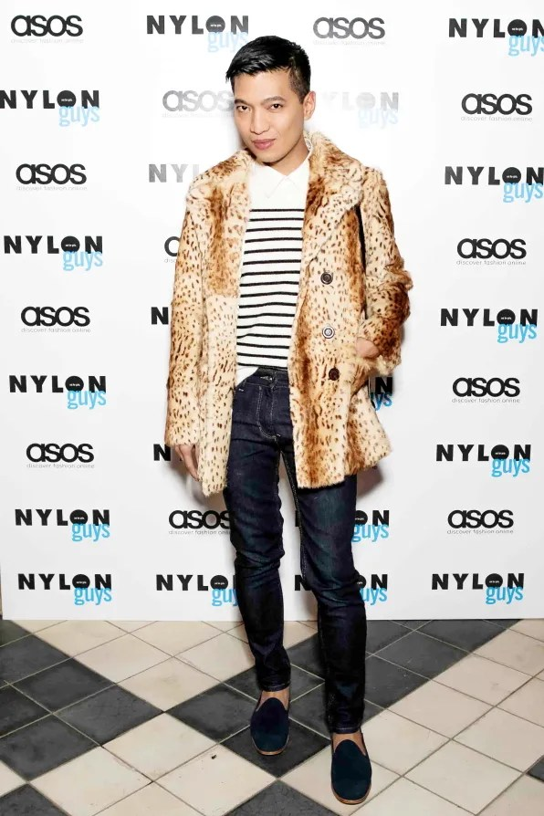 Bryanboy at the Nylon Guys and ASOS event