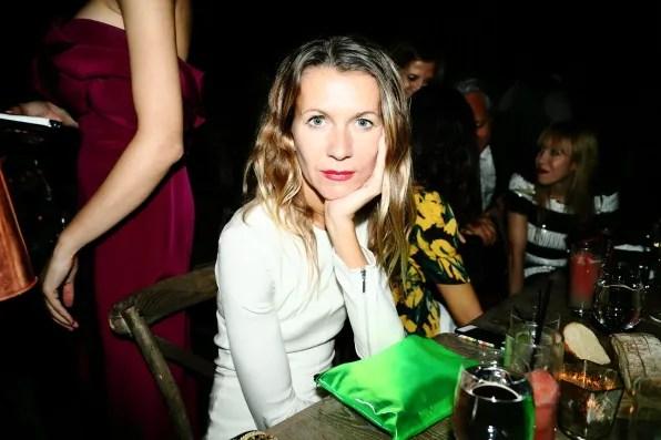 Natalie Joos at the Marchesa spring summer 2013 dinner