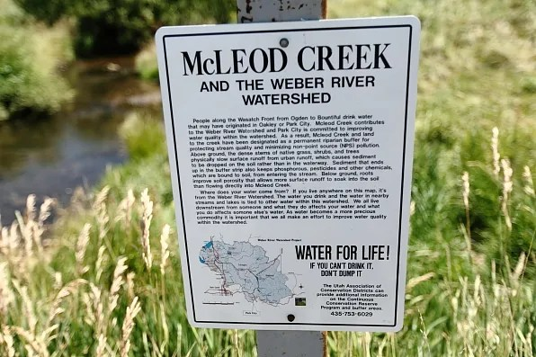 McLeod Creek and the Weber River Watershed