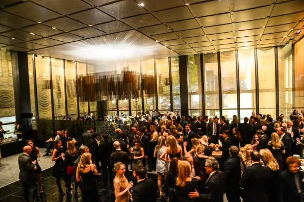 Max Mara and The Associates Committee of the Society of Memorial Sloan-Kettering Cancer Center host the Fall 2012 party.