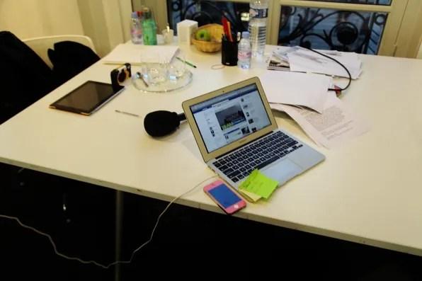 Nicola Formichetti's laptop