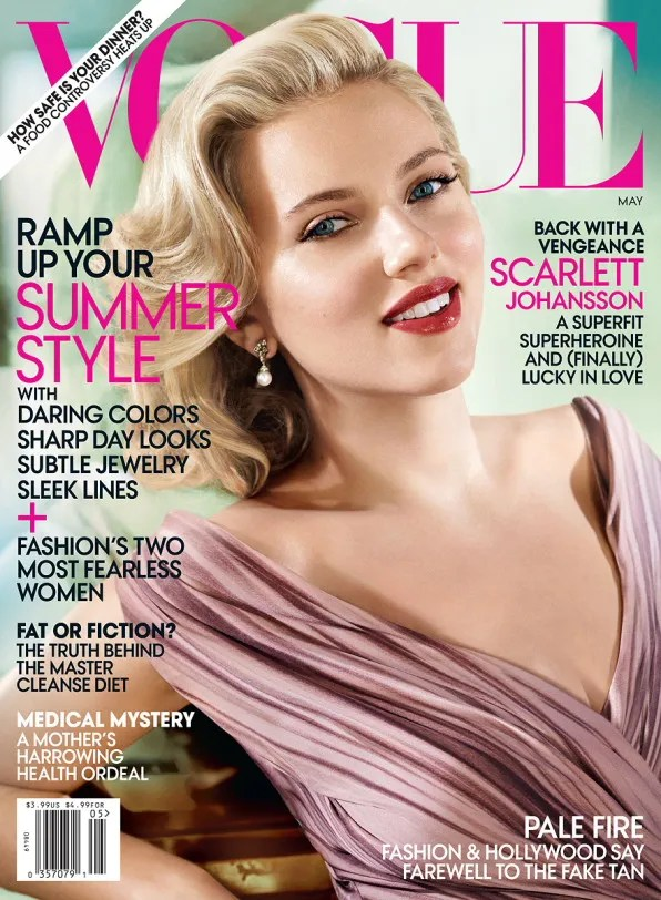 Scarlett Johansson May 2012 Vogue USA cover