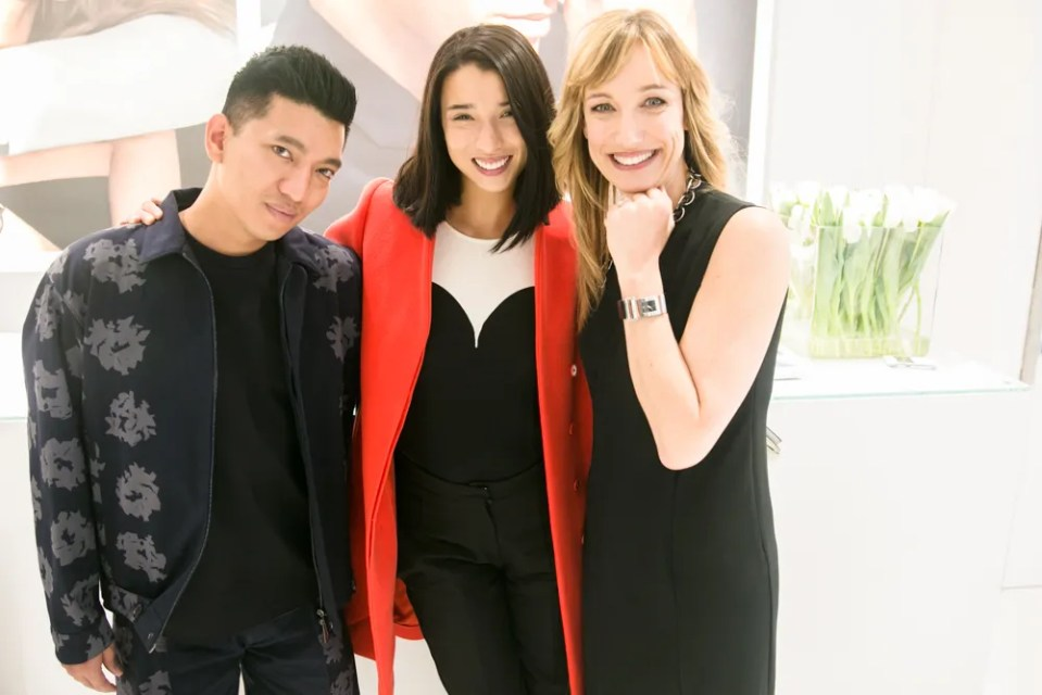Bryanboy, Lily Kwong and Laura Burdese at Baselworld 2013