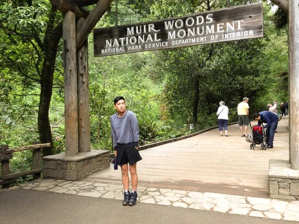 Muir Woods National Monument in Marin County, California