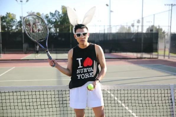 Bryanboy wearing 3.1 Phillip Lim spring summer 2013