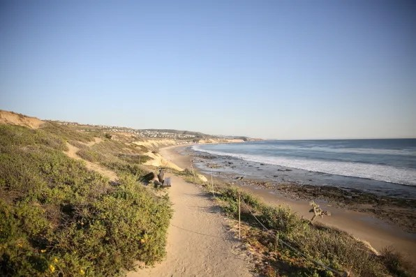 Crystal Cove State Park Beach, California