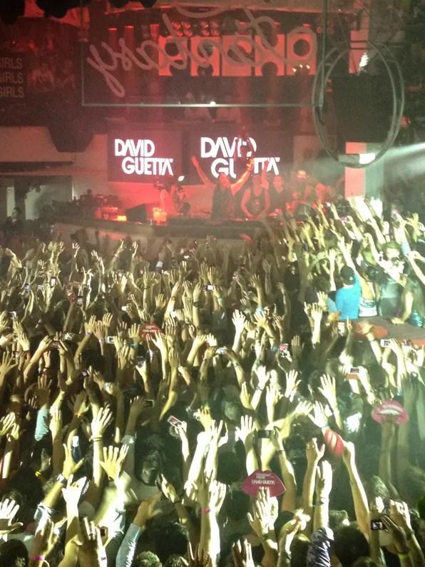David Guetta DJing at Fuck Me I'm Famous Pacha Ibiza