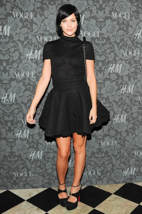 Leigh Lezark at the H&M x Vogue Between the Shows party