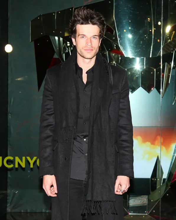 Ivan Olita at Just Cavalli NYC Soho store opening