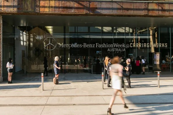 Mercedes-Benz Fashion Week Australia 2013 at Carriageworks