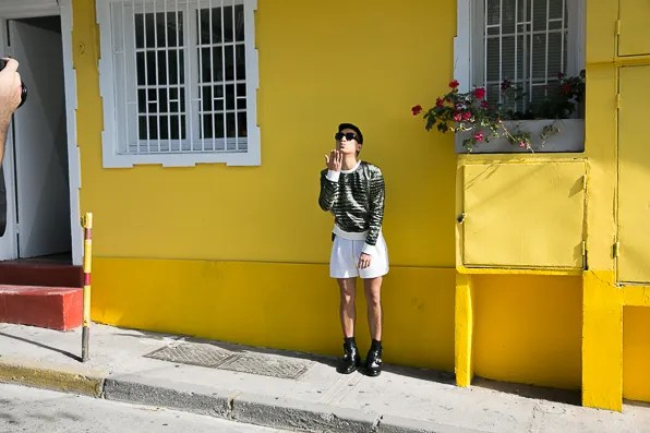 Bryanboy in Reed Krakoff visiting Santiago, Chile
