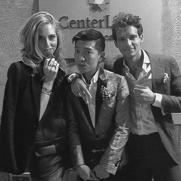 Chiara, Bryanboy and Riccardo at Socialyte Gala Awards
