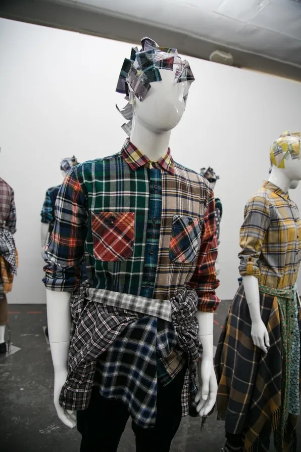 Uniqlo Lifewear Fall Winter 2013 plaid shirt