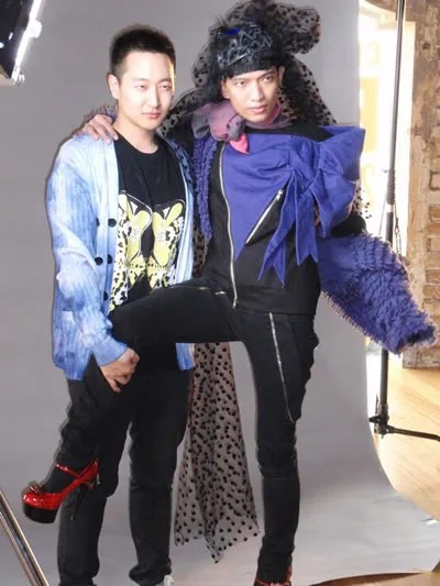 Bryanboy and Jaeha Alex Kim at NO Magazine New Zealand