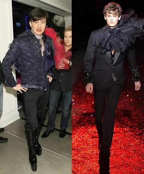 Bobby Trendy and John Galliano menswear Fall/Winter 2009-2010