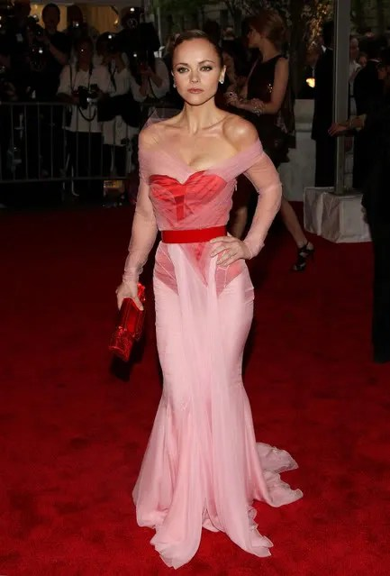 Christina Ricci in Givenchy, Met Costume Institute Gala
