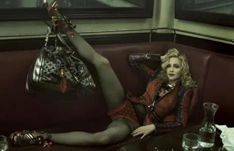 Madonna Louis Vuitton Spring Summer 2009 Ad Campaign photos