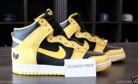 Nike Dunk High Wu-Tang sneakers