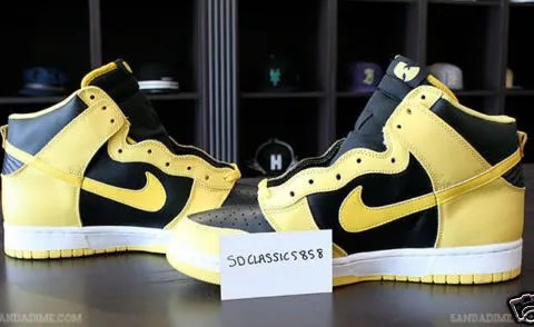Nike Dunk High Wu-Tang Limited Edition Sneakers