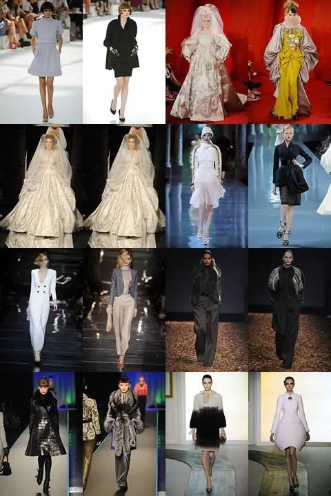 Paris Haute Couture Collections Autumn Winter 2008 2009