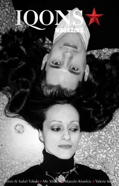 Ruben and Isabel Toledo on the cover of IQONS Magazine