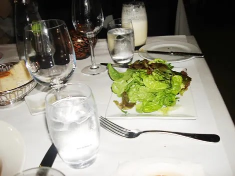 Sala Bistro, Salad