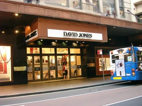 David Jones, Sydney Australia