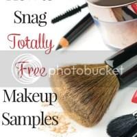 How to Snag FREE Makeup Samples