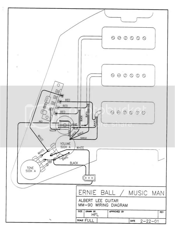 Ernie Ball Wiring Diagrams - Data Wiring Diagram Update