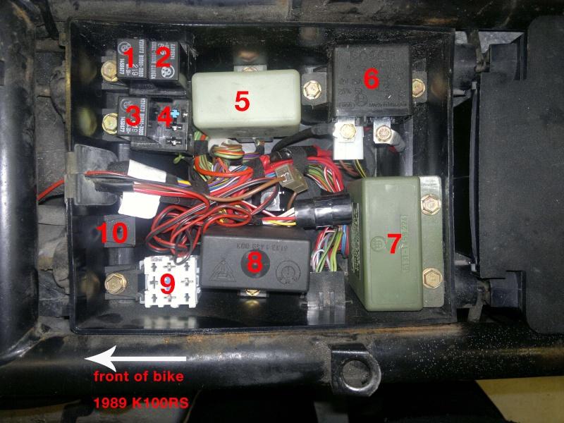 1985 bmw k100 wiring diagram k bike starter info bmw k k k k