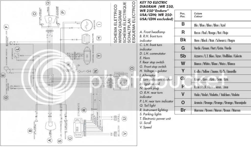 2007 yamaha wr250f wiring diagram