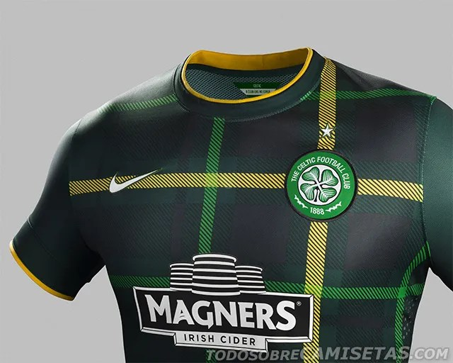 Club Del Libro Oficial: Celtic Fc Nike Away Kit 2014/2015 - Todo Sobre
