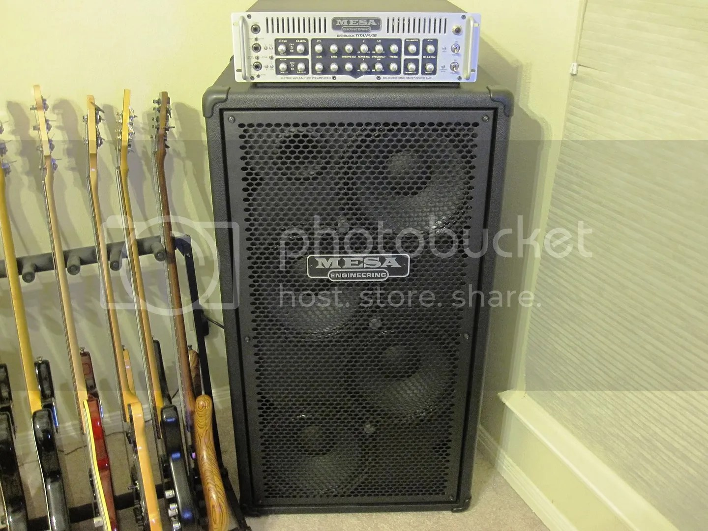 Mesa 4x12 Mesa Boogie Big Block Titan V12w 4x12 Powerhouse Bass