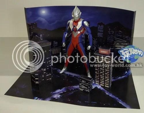 PAPERMAU Sci-Fi Background - Diorama - by TamashiiJp