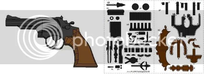 Paper Gun Templates Printable - #traffic-club
