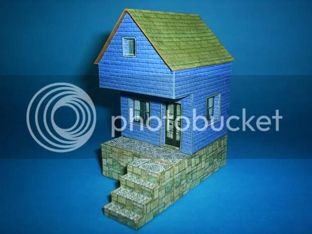 PAPERMAU Six Simple Little Houses - by Papermau - Seis Casinhas Simples