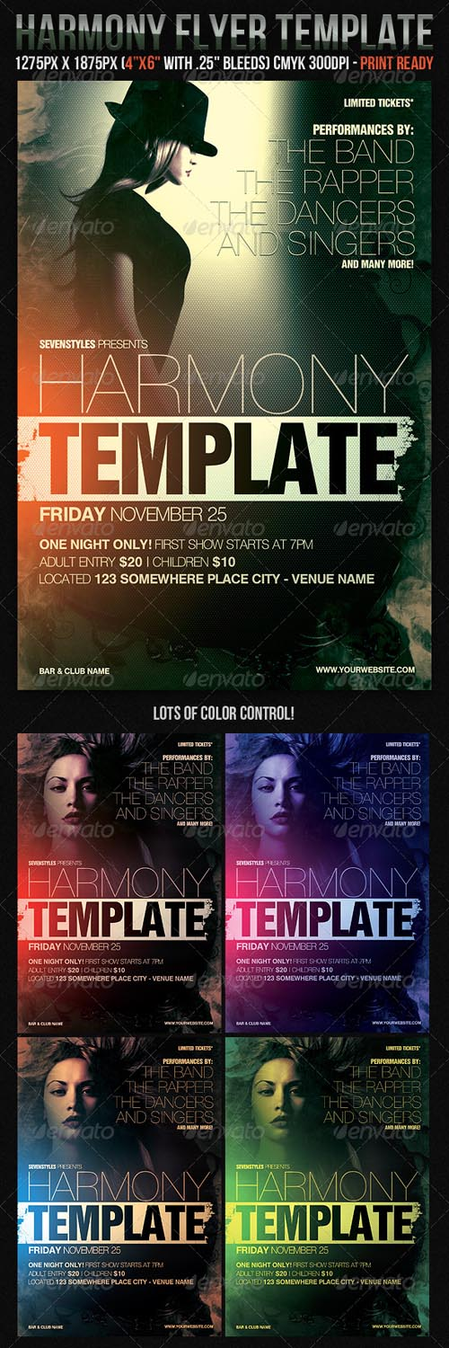 Graphicriver Harmony Flyer Template Free eBooks Download - EBOOKEE!