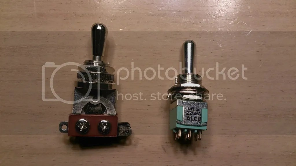 Need wiring diagram - Alco 3 way toggle switch Official PRS