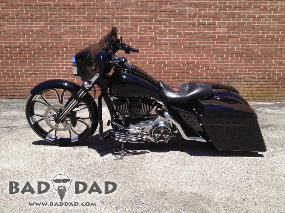 Full Hd Motorcycle Wallpaper Baggers Scott S Street Glide Bad Dad Custom