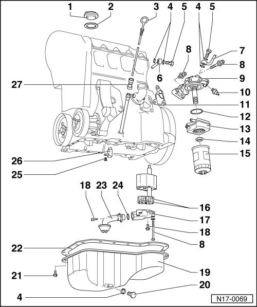 passat Schema moteur