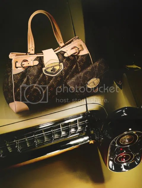 Quilted Monogram Bag