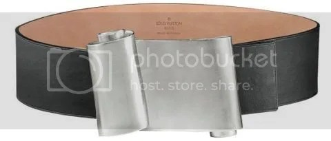 Louis Vuitton Fall 2008 Belts