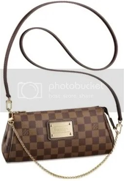 Louis Vuitton Damier Eva Clutch