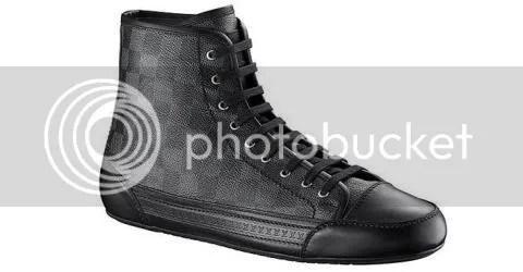 Louis Vuitton Damier Graphite Sneaker Boot