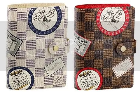 Louis Vuitton Damier PM Patch Agenda