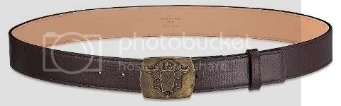 Louis Vuitton Ecusson Utah 35 MM Belt