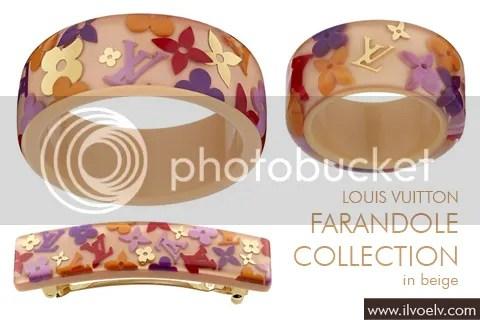 Louis Vuitton Farandole Collection in Beige