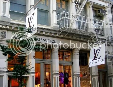 Louis Vuitton SoHo Transforms for Stephen Sprouse