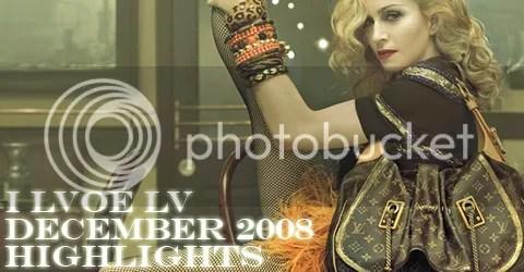 I LVOE LV: December 2008 Highlights